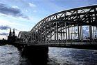 Kölner Dom an Hohenzollernbrücke - Digi Art