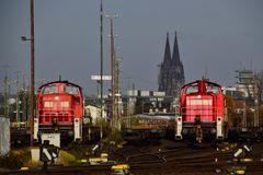 Kölner Dom aus einem anderen Blickwinkel
