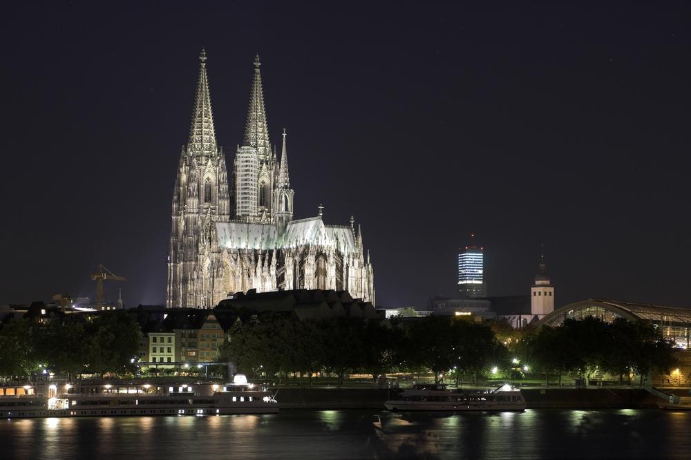 Kölner Dom - Bei Nacht
