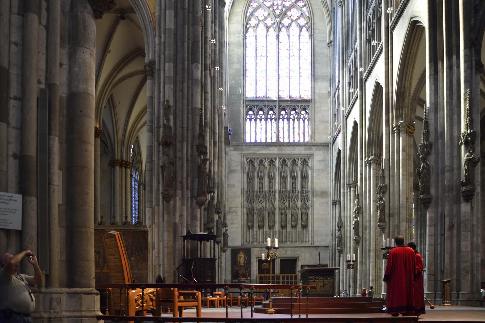 Kölner Dom - Domschweizer