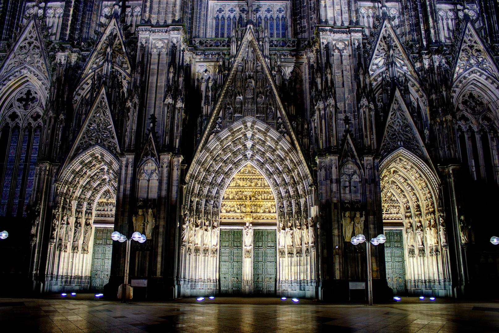 Kölner Dom Eingänge