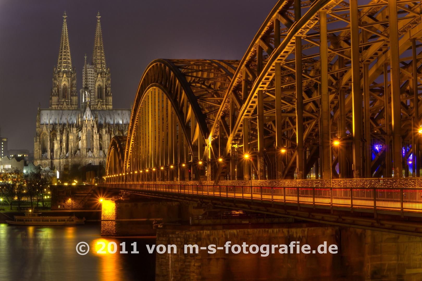 Kölner Dom & Hohenzollernbrücke, Variante05