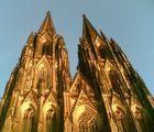 Kölner Dom im herbstlichen Licht