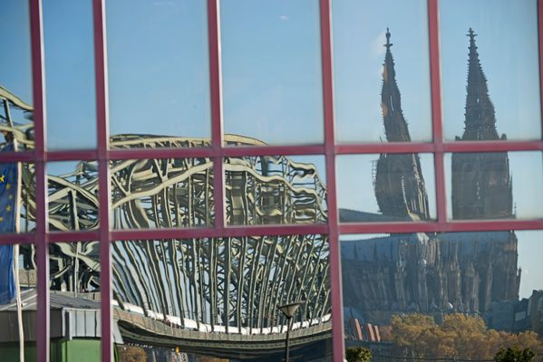 "Kölner Dom ""im"" Hyatt"