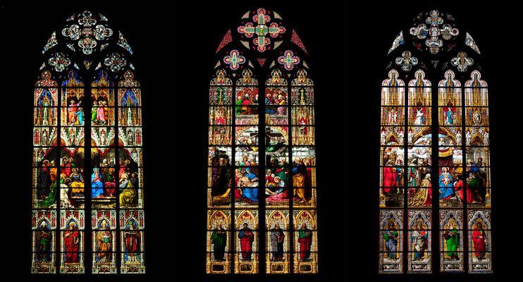 Kölner Dom - Kirchenfenster