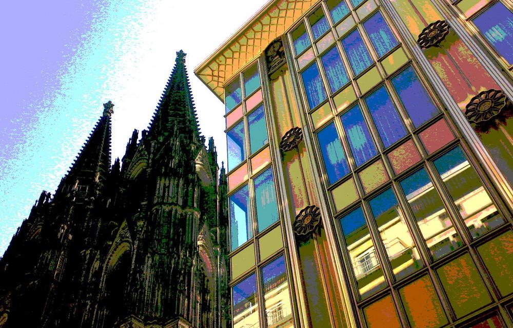 Kölner Dom und eau de cologne 4711
