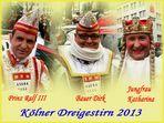 Kölner Dreigestirn 2013
