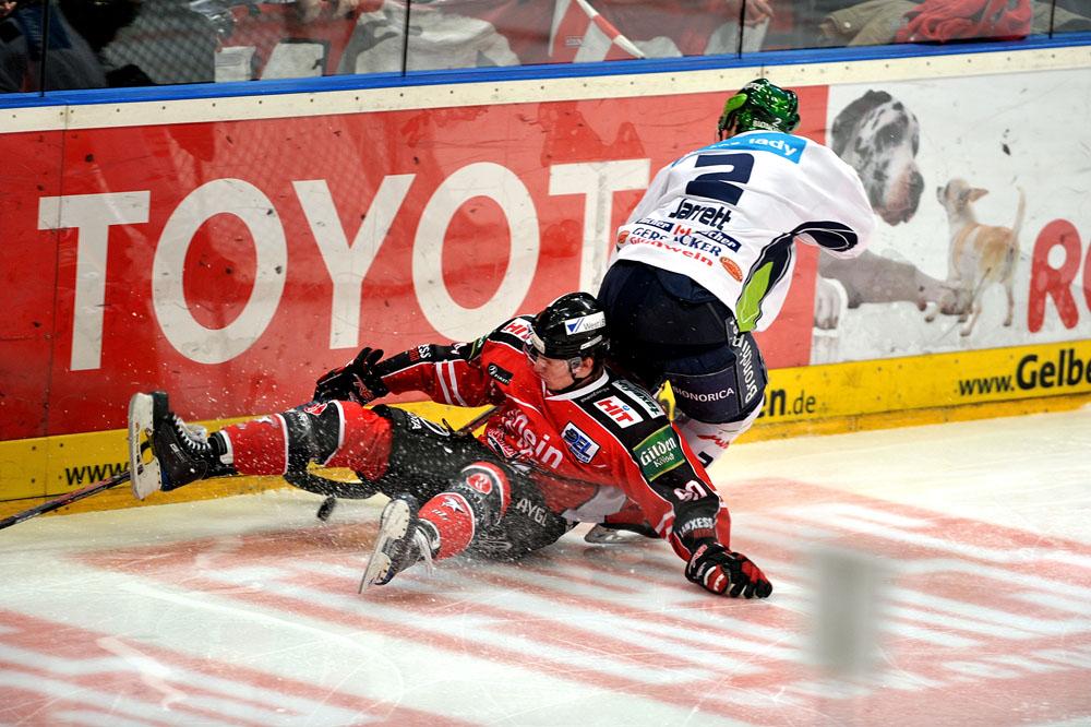 Kölner Haie vs. Sinupret Ice Tigers