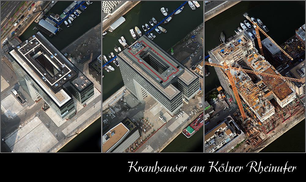 Kölner Kranhaus/er - Kranhäuser
