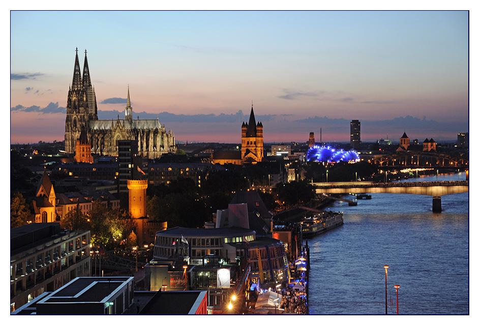 Kölner Lichter #3