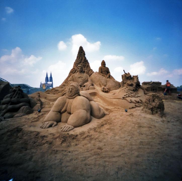 Kölner Sandkastenkunst