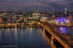 Kölns schönste Aussicht .... mit Blick op der Dom