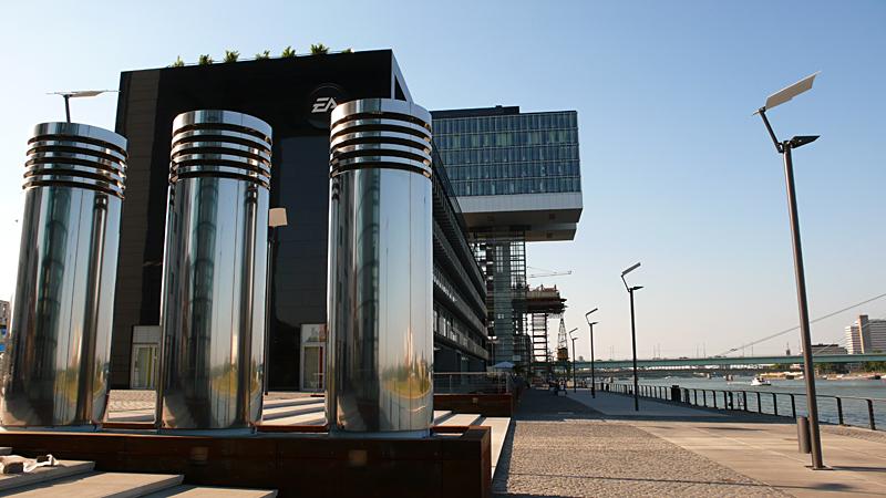 Köner Rheinauhafen Kranhäuser
