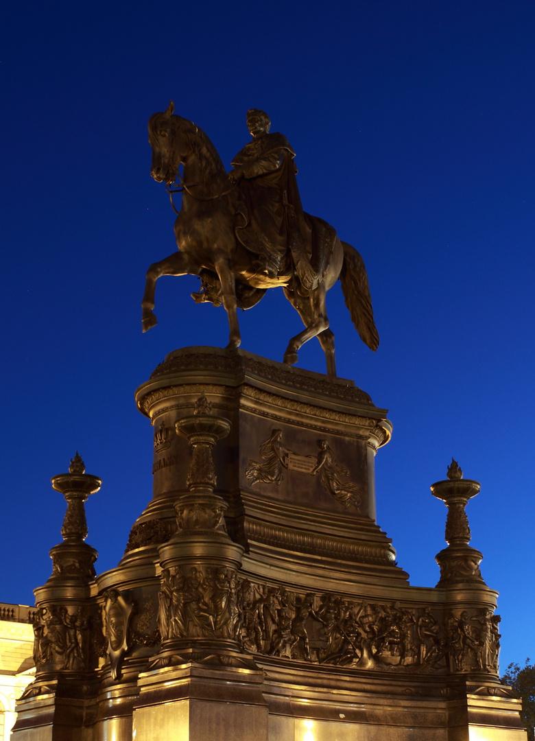 König Johann von Sachsen