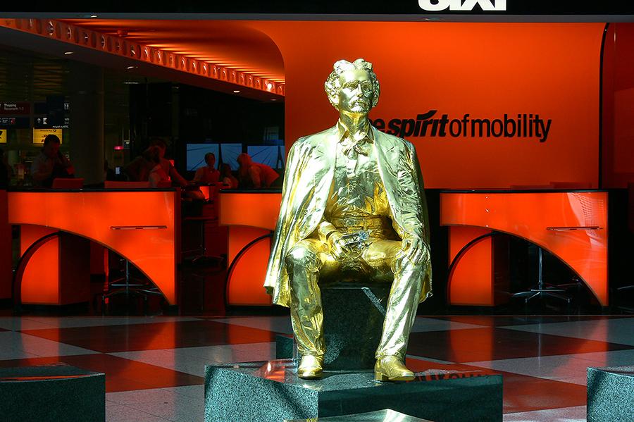 König Ludwig in Gold