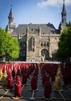 Könige hinter dem Rathaus