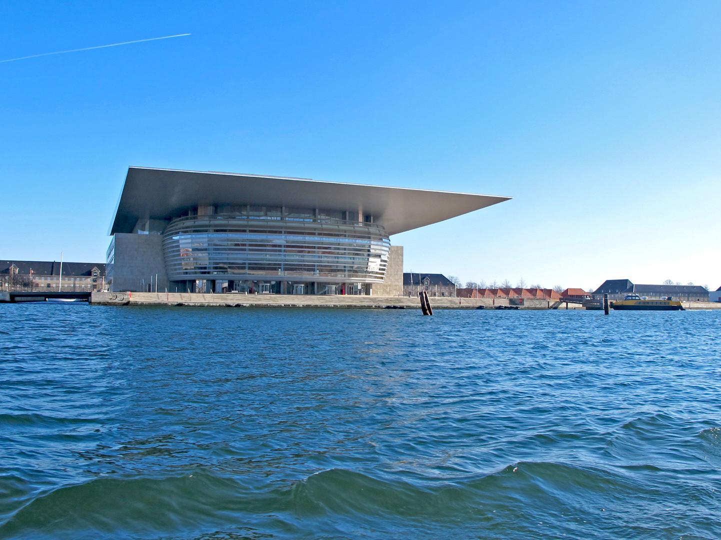 Königliche Oper auf der Insel Holmen von Kopenhagen
