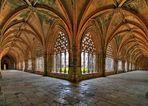 Königlicher Kreuzgang im Kloster Batalha