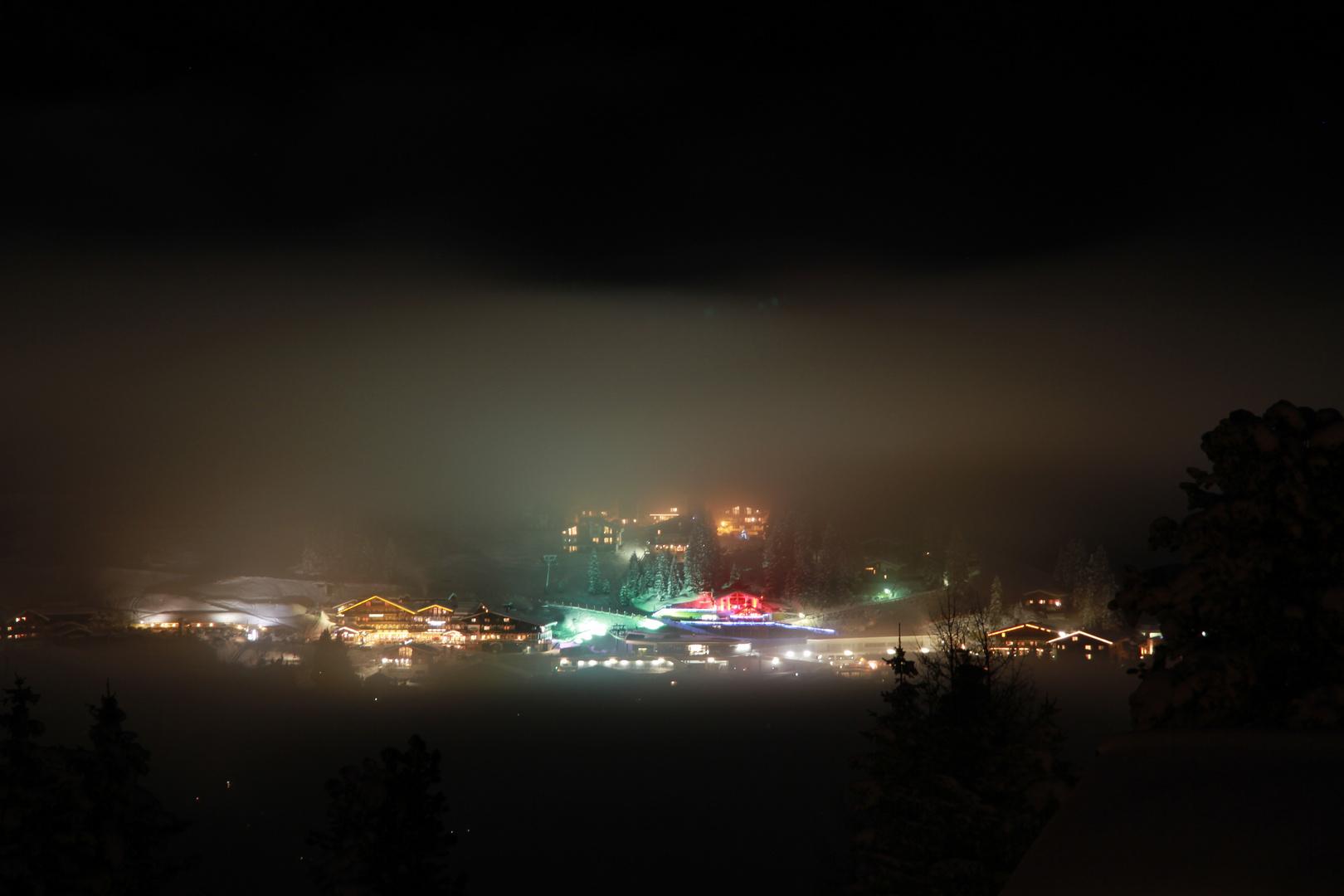 Königsleiten at night