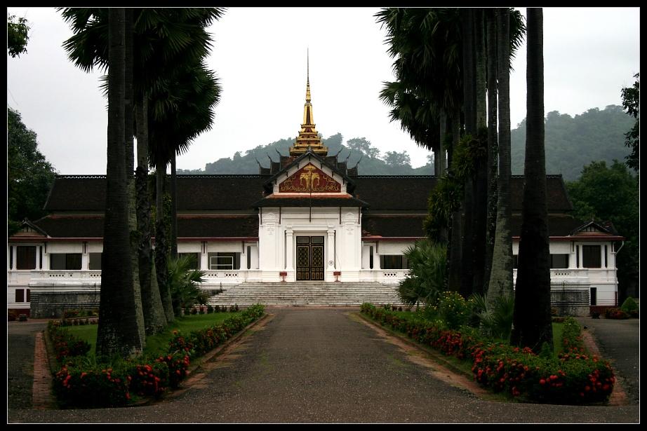 Königspalast in Luang Prabang, Laos