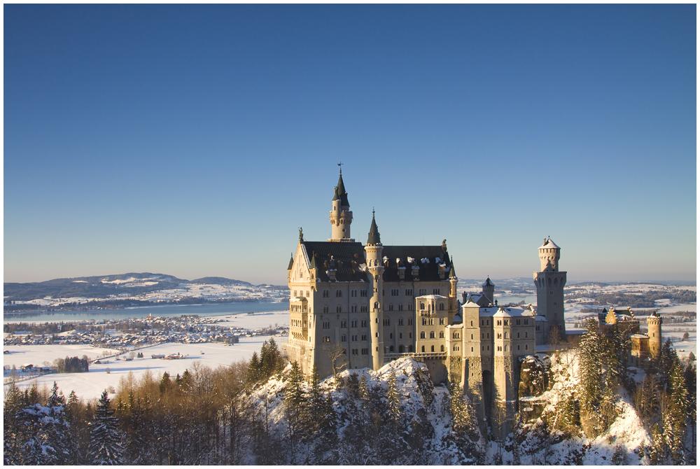 Königsschloss bei Kaiserwetter