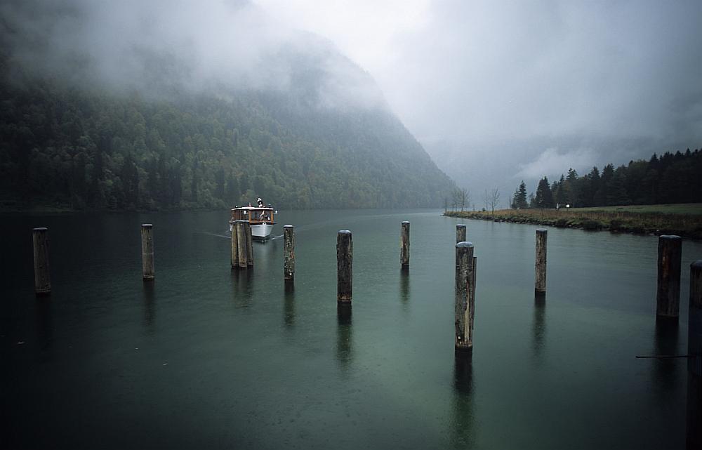 Königssee bei Schietwetter