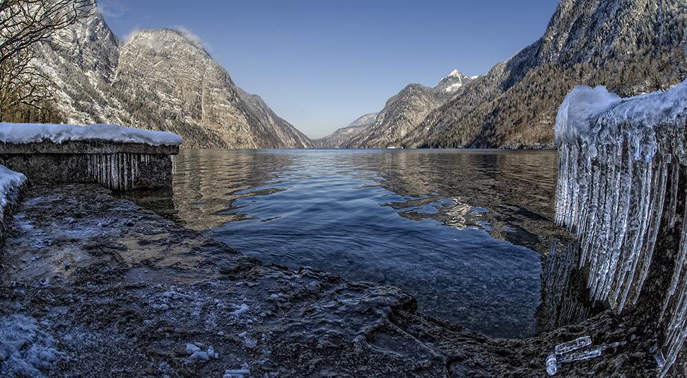 Königssee - Eiszapfen