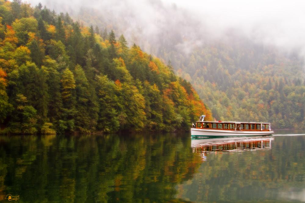 Königssee im Herbst