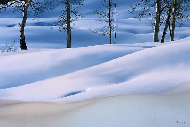 Körper im Schnee