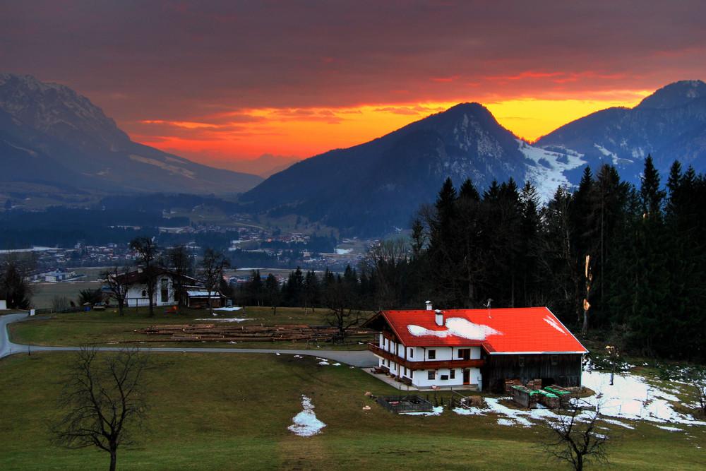 Kössen, Österreich, Alpen....