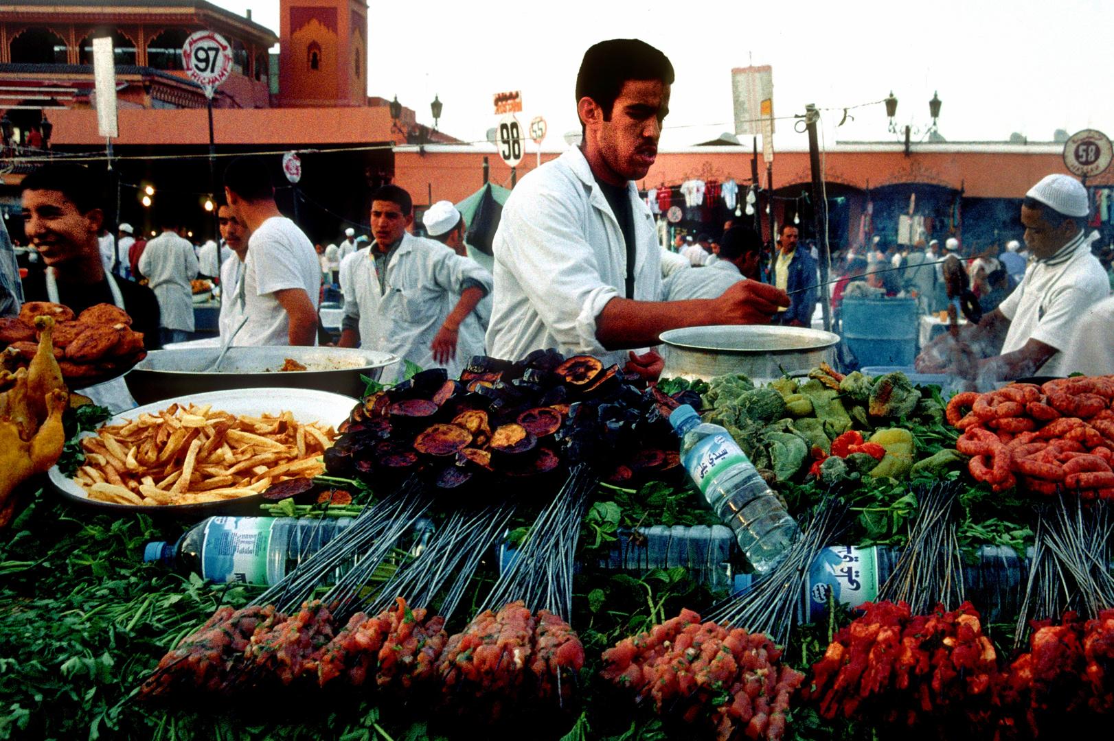 Köstlichkeiten auf dem Djamaa el Fna