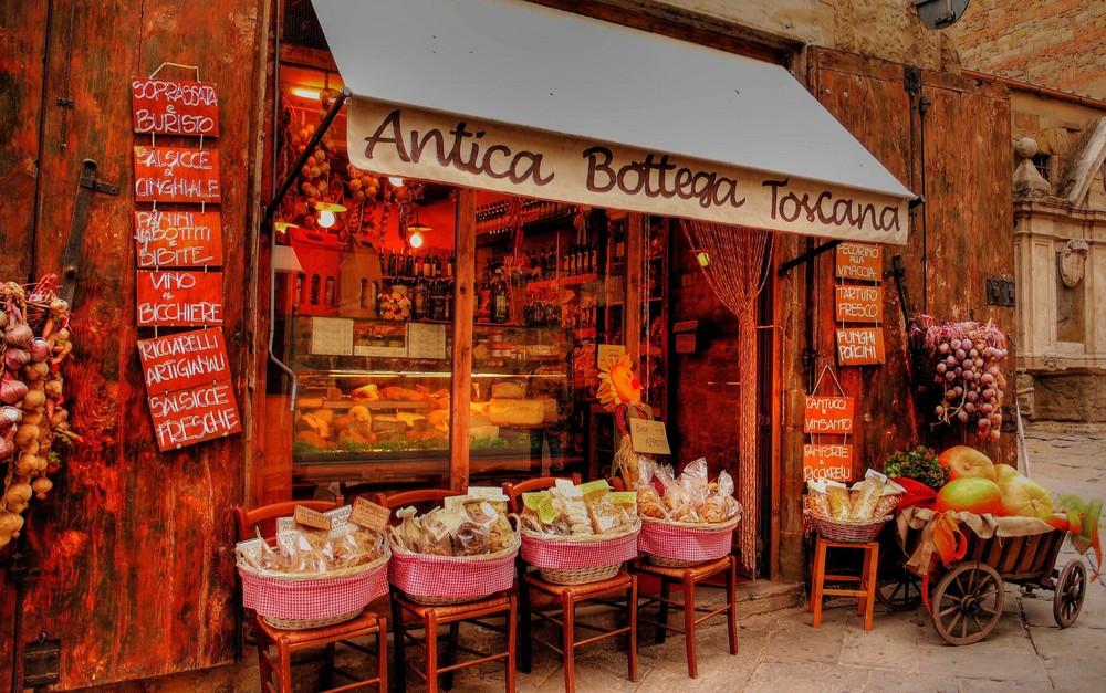 Köstlichkeiten der Toscana