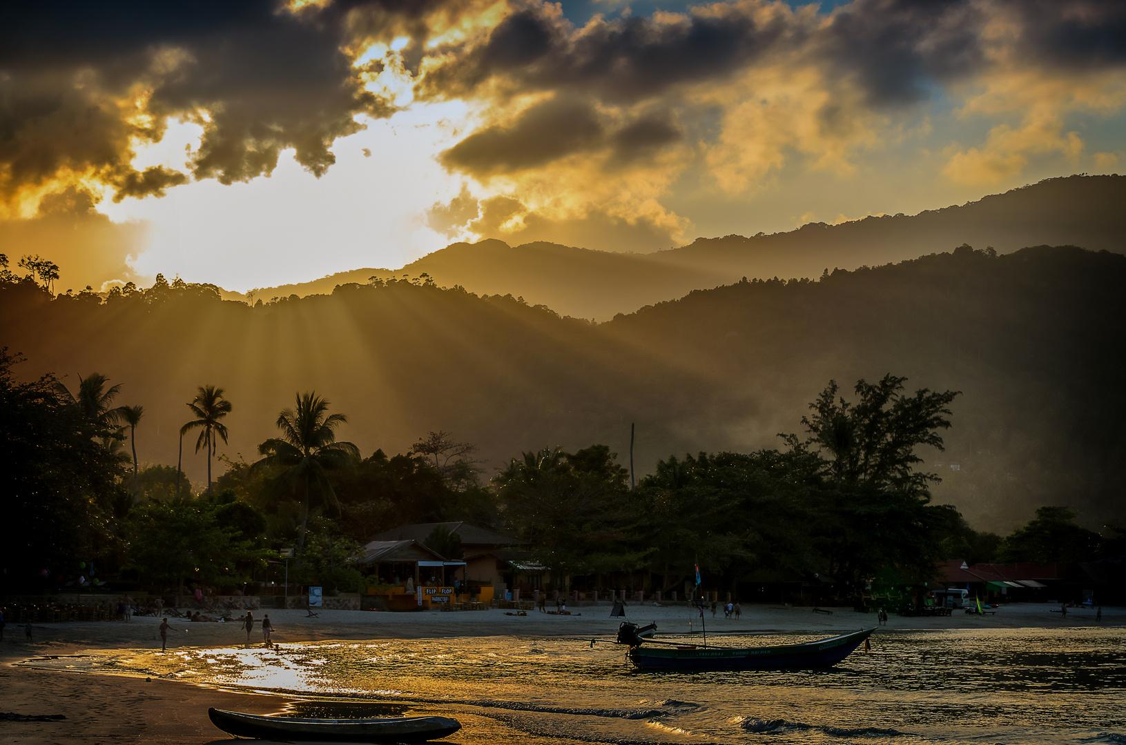 Koh Phangan - Golden Beach