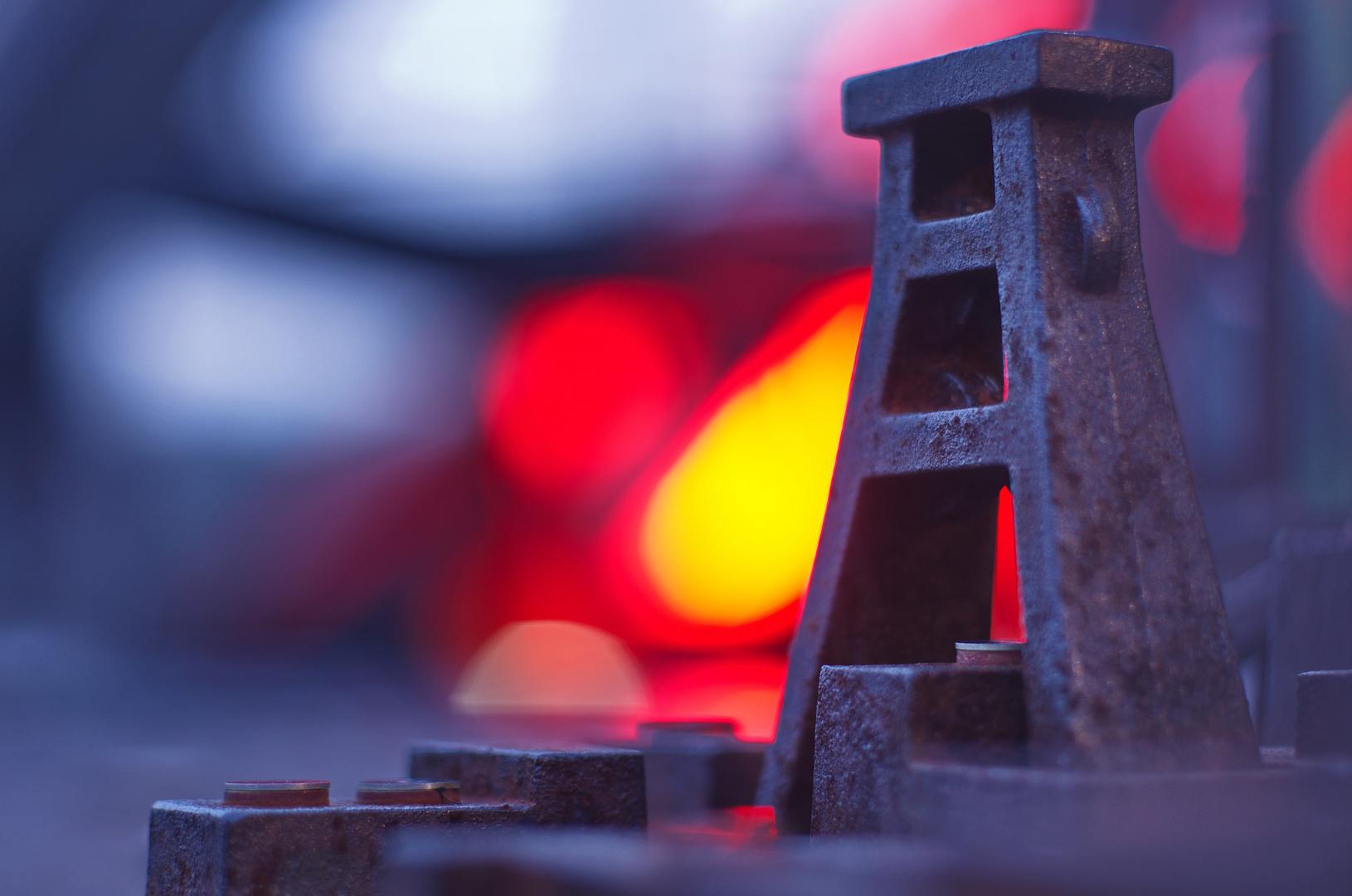Kohle und Stahl - ganz schön bunt