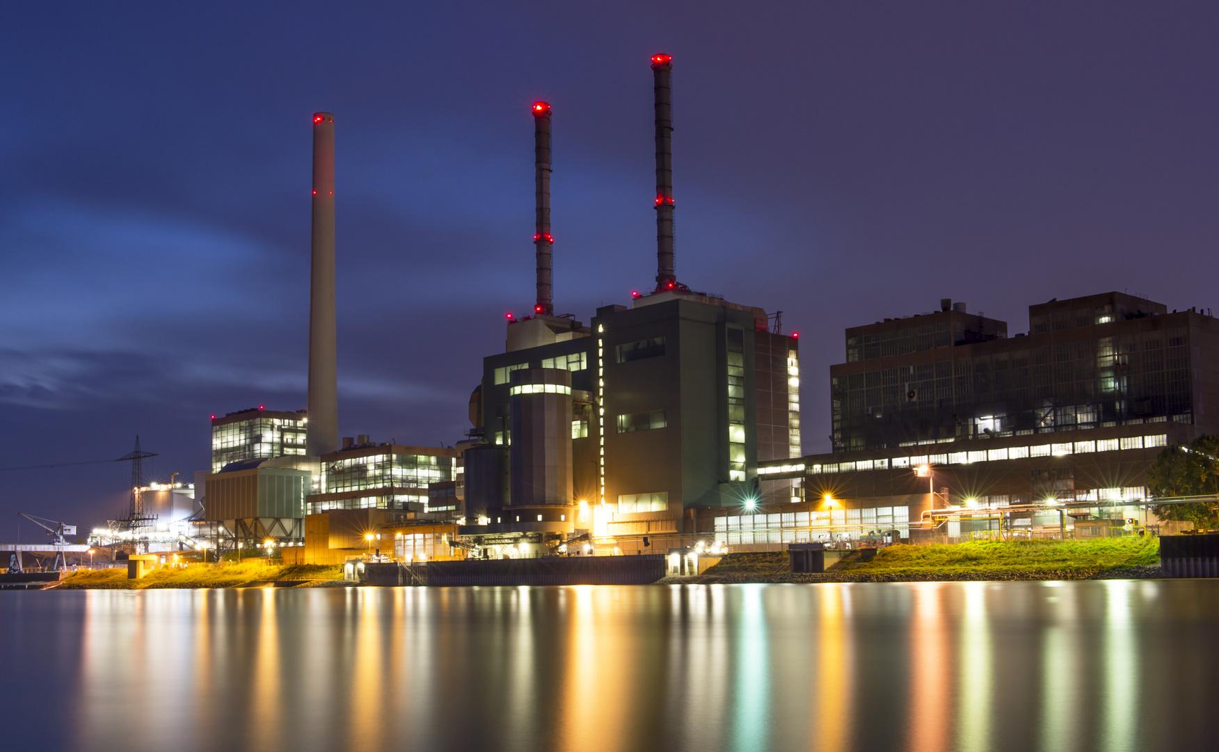 Kohlekraftwerk Mannheim Bild 3, August 2013