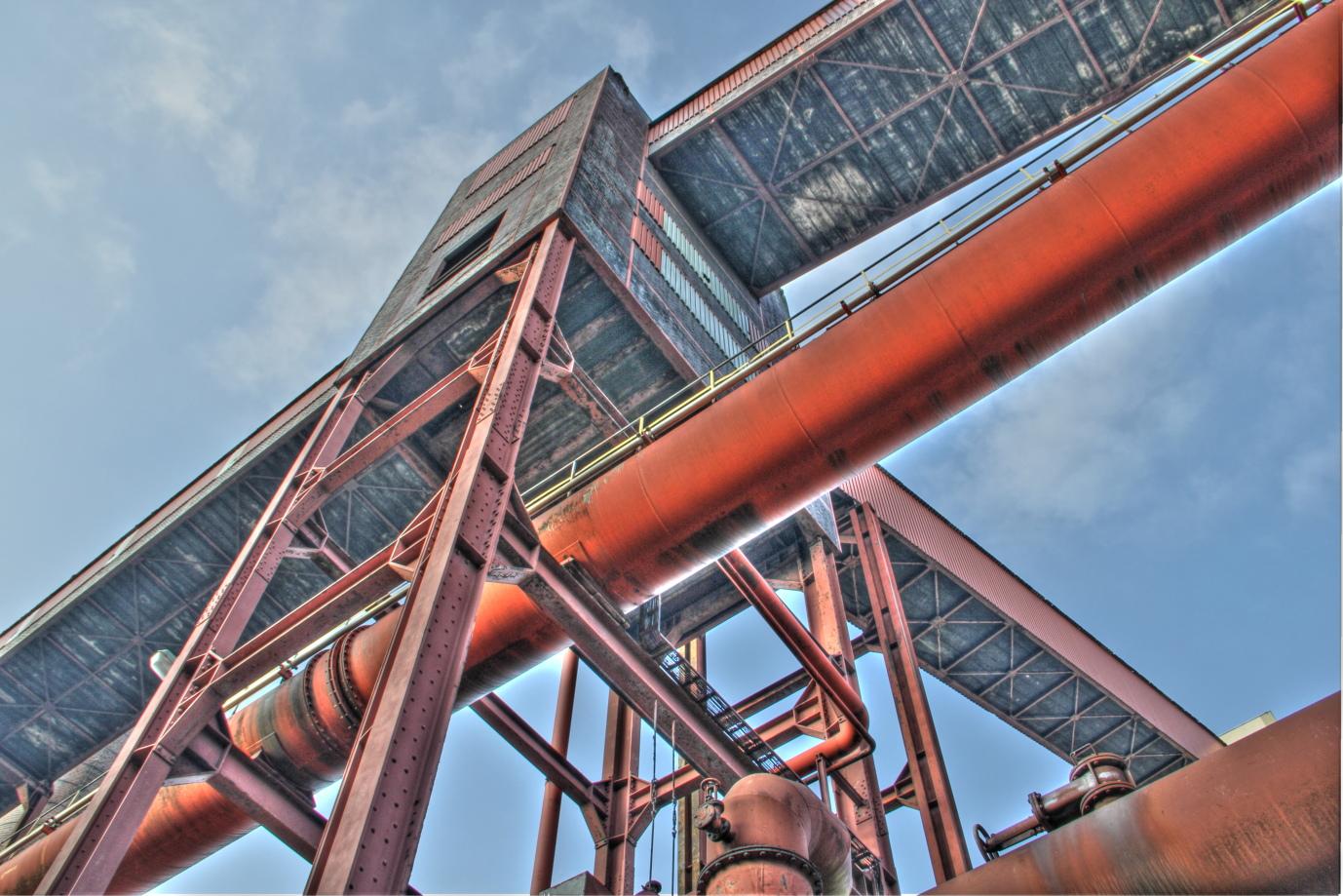 Kokerei, Zollverein, D-Essen