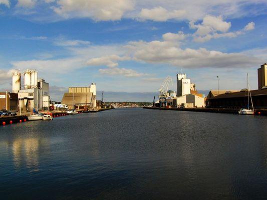 Kolding Hafen