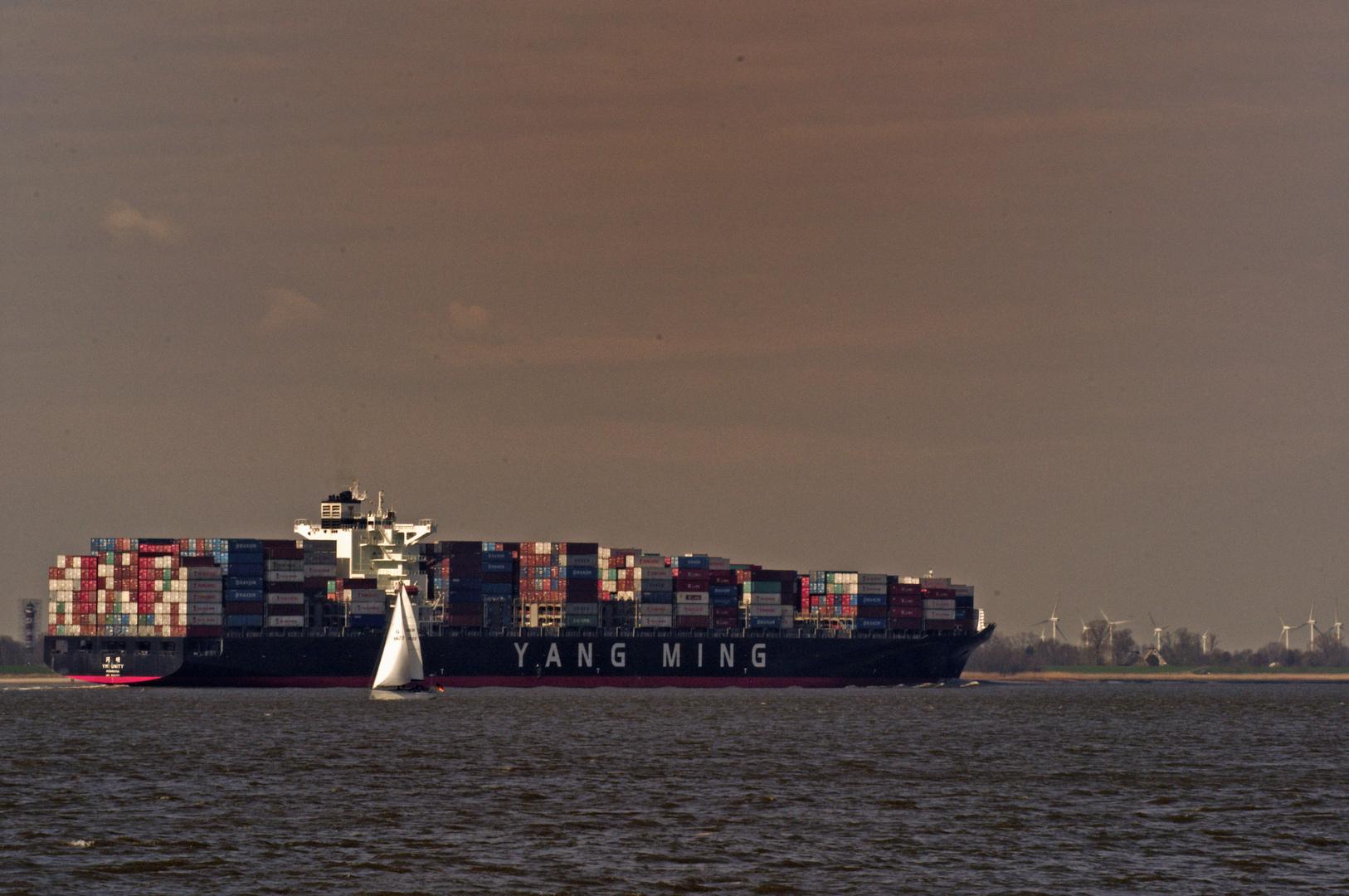 Kollmar Containerschiff