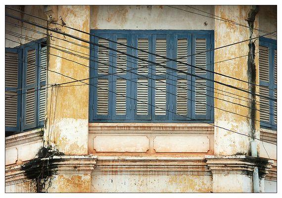 Koloniale Vergangenheit - Kampot, Kambodscha