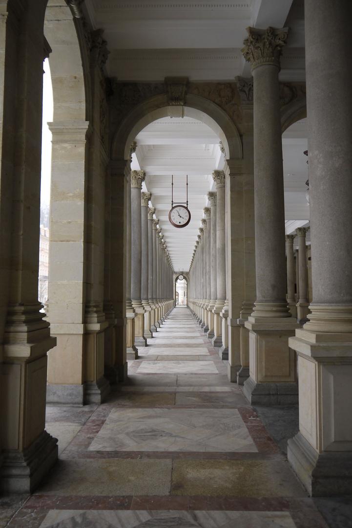 Kolonnade in Karlsbad