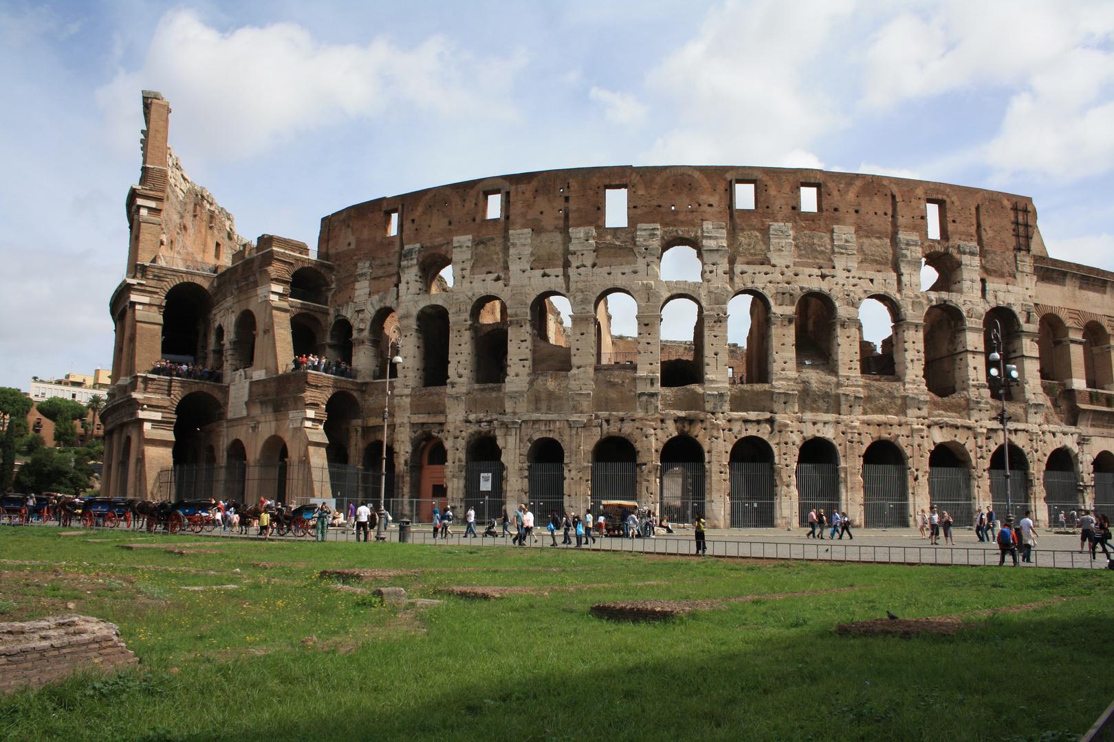 Kolosseum am Tag