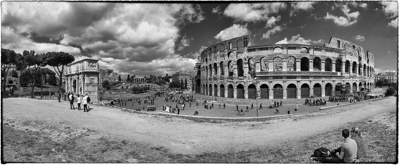 Kolosseum mit Konstantinsbogen
