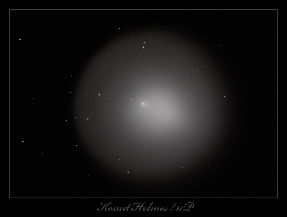Komet im Sternbild Perseus