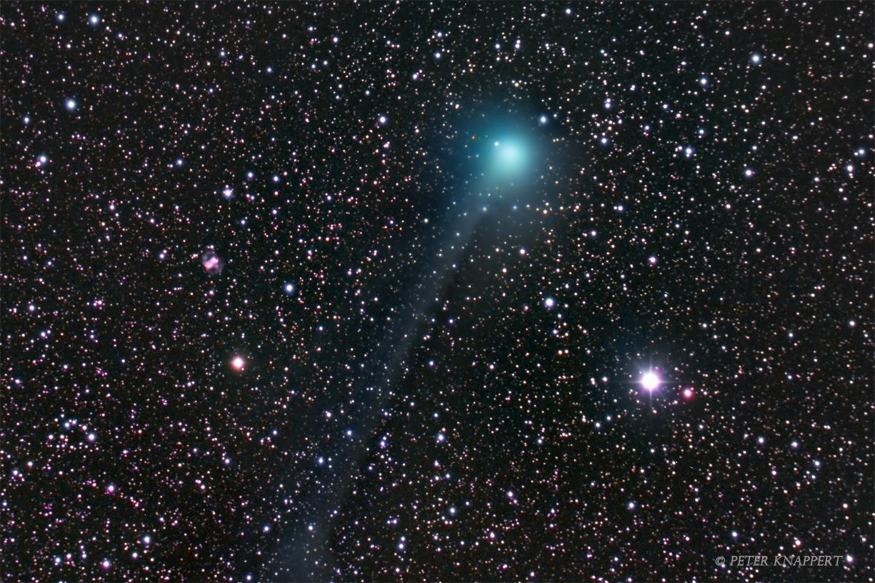 Komet Lovejoy bei M76