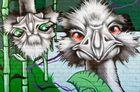 Komische Vögel