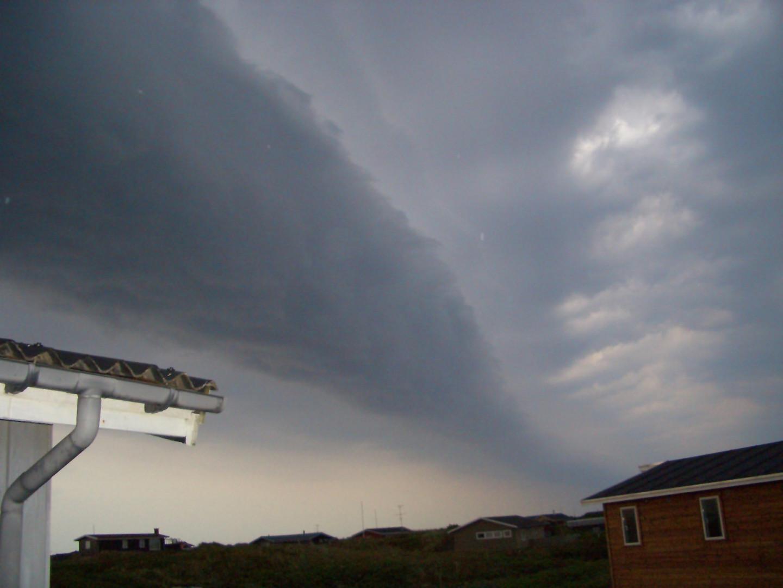 Komische Wolkenformation 2