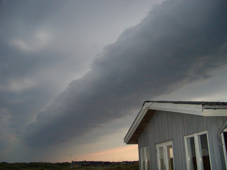 Komische Wolkenformation 3