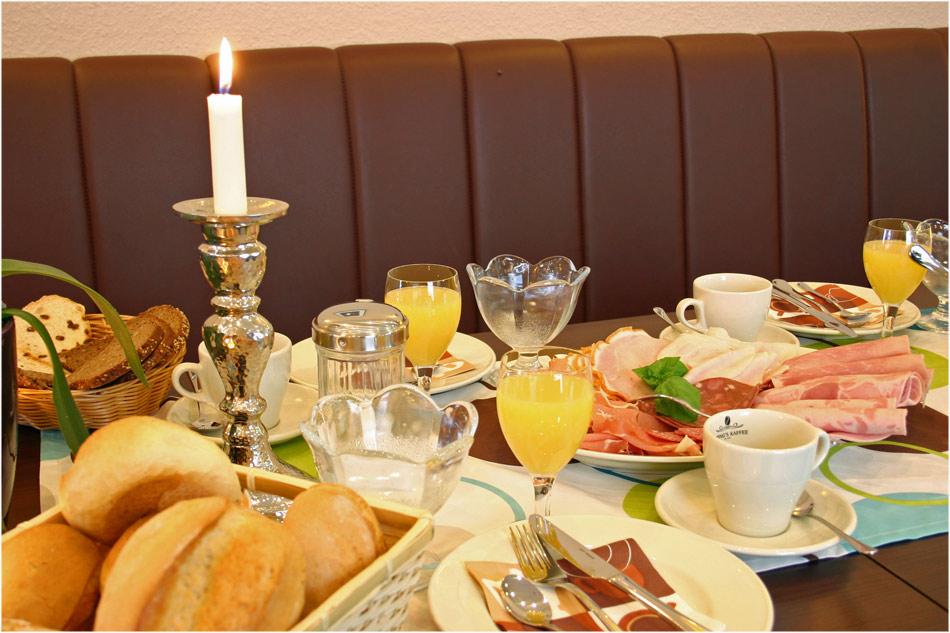 Komm doch zum Frühstück.......