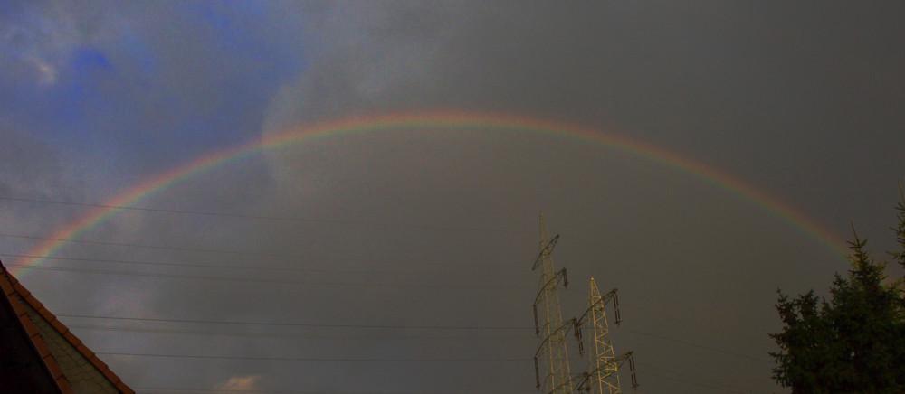Komm lass uns über den Regenbogen laufen...