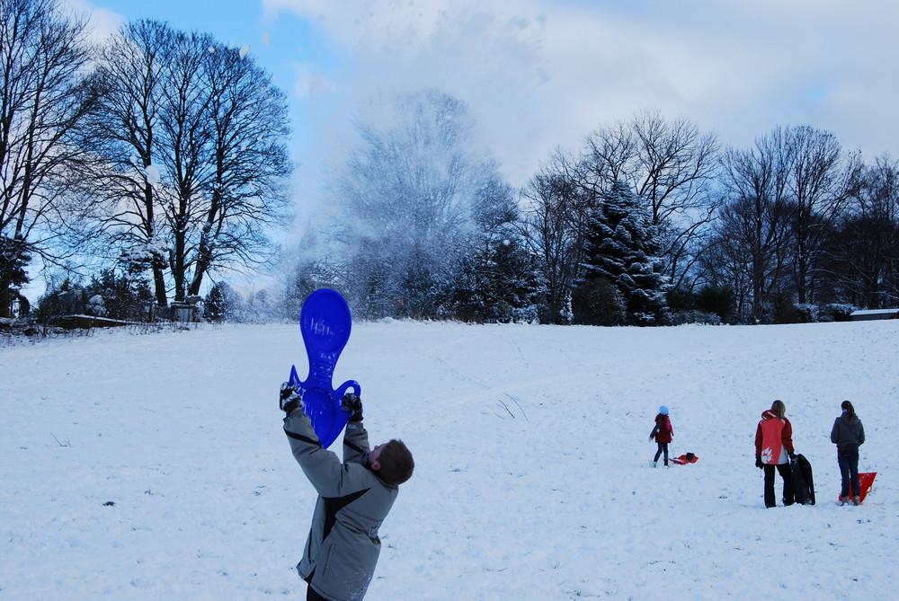 Komm Schnee, fall herunter!!!!